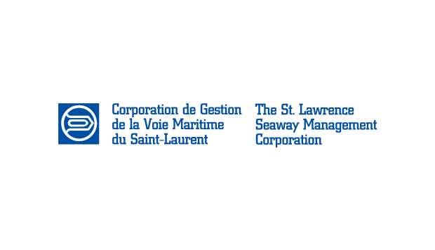 Logo Corporation de Gestion de la Voie Maritime du St-Laurent